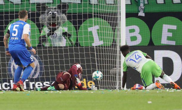 Wolfsburgin Divock Origi ei mahtunut Belgian MM-kisaryhmään. Nyt hyökkääjä haluaa varmistaa Volkkarimiesten paikan Bundesliigassa myös ensi kaudeksi.