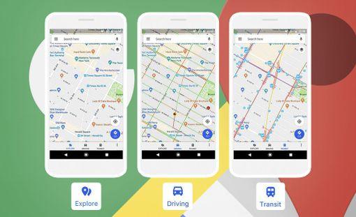 Mapsin uudistuksella pyritään parantamaan käytettävyyttä.