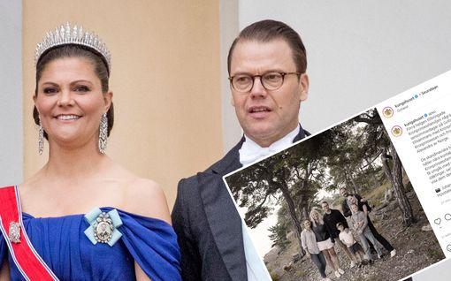 Norjan ja Ruotsin tulevat hallitsijat koolla – julkaisivat kuvan yhteisestä lomaviikonlopusta