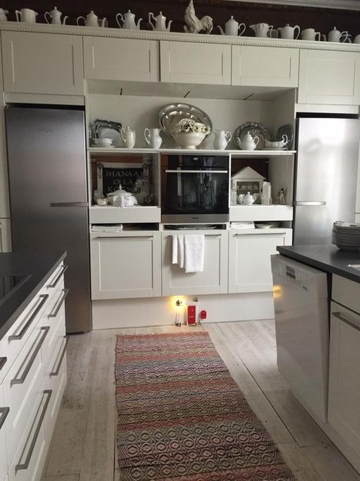 Anne Salosen tonttuovi sijaitsee keittiössä.