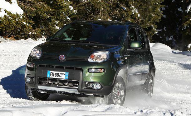 Fiat Pandan saa Suomeen myös nelivetoisena.