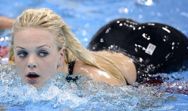 Uimarin takamus herätti kansainvälistä huomiota Lontoon olympialaisissa kaksi vuotta sitten.