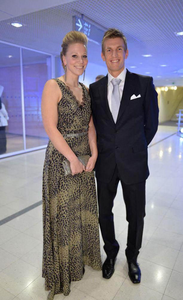 Jarkko Nieminen ja Anu Nieminen ovat olleet naimisissa 10 vuotta.