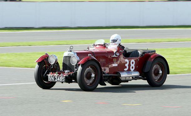 Daniel Ricciardon Aston Martin Le Mans vuodelta 1933.