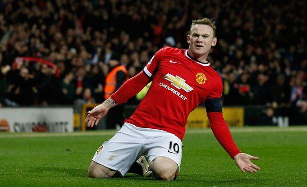 Wayne Rooney suojaus petti.