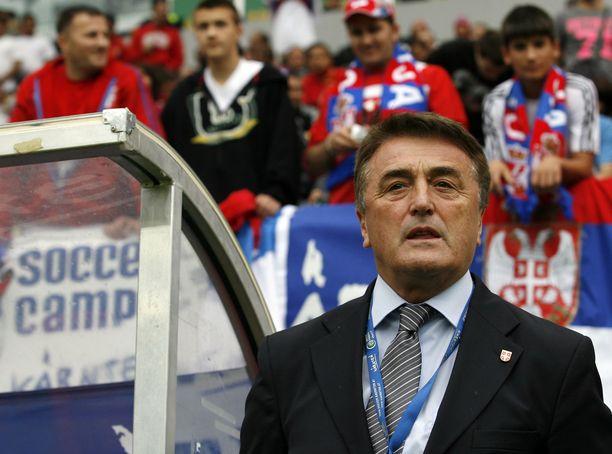 Radomir Antic luotsasi myös Serbian maajoukkuetta.