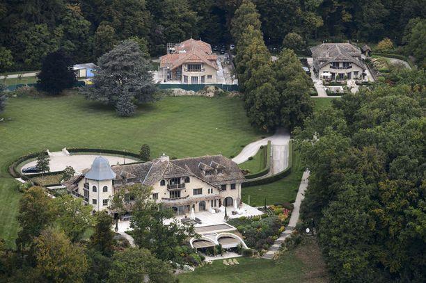 Aivovamman saanut Michael Schumacher on hoidettavana kodissaan Sveitsin Glandissa.