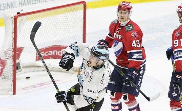 Aleksi Rekonen on tehnyt Pelicansille maalin kahdessa viimeisessä ottelussa, jotka lahtelaiset ovat voittaneet.