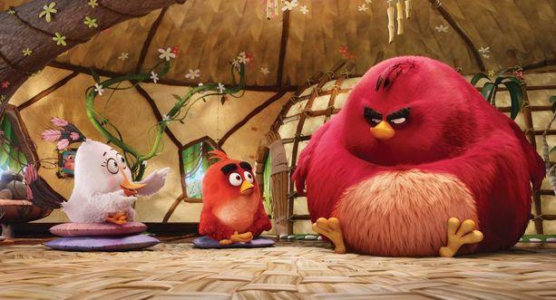 Vihaiset linnut taistelevat tuhmia porsaita vastaan nyt valkokankaalla.