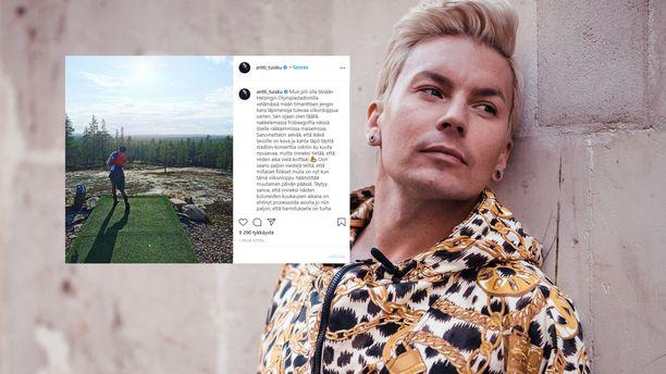 Antti Tuisku on muiden artistien tapaan kärsinyt koronasta muun muassa peruuntuneiden keikkojen muodossa.
