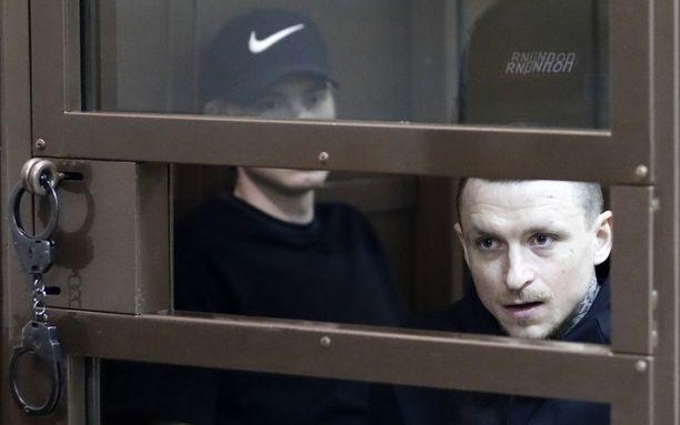 Pavel Mamajevin (oikealla) ja Aleksandr Kokorinin valituksia tuomiosta ei hyväksytty.