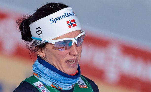 Marit Björgen on vastaillut vuosien mittaan useita kertoja lihaksiaan koskeviin kysymyksiin.