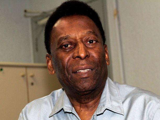 Pelé on ollut huonossa kunnossa lonkkaleikkauksen jälkeen.