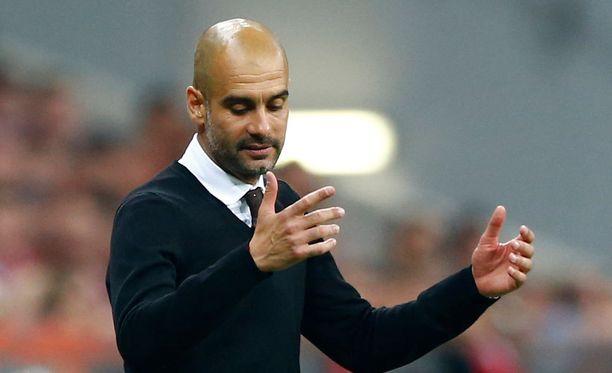Pep Guardiolan Bayern putosi Mestarien liigan välierissä.