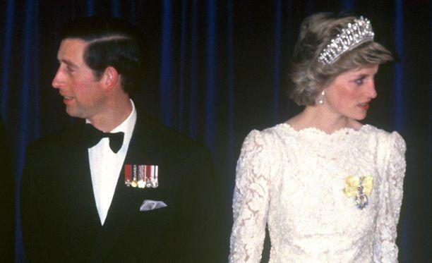 Charlesin ja Dianan liitto oli onnellinen vain paikka paikoin.