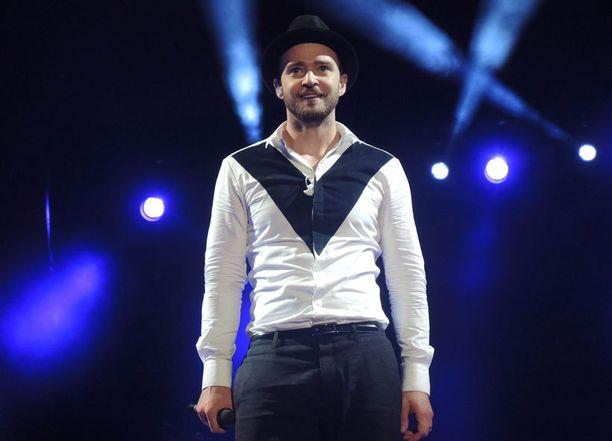 Justin Timberlake tuo maailmankiertueensa Suomeen toukokuussa.