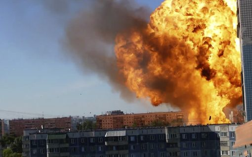 Massiivinen räjähdys asuinalueella Venäjällä – silminnäkijä taltioi tilanteen