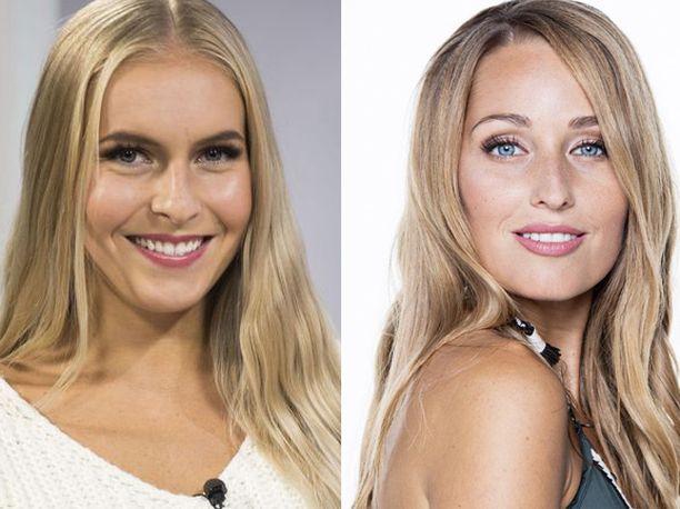 Alina Voronkova ja Jenna Ruohola kisasivat missikruunusta.
