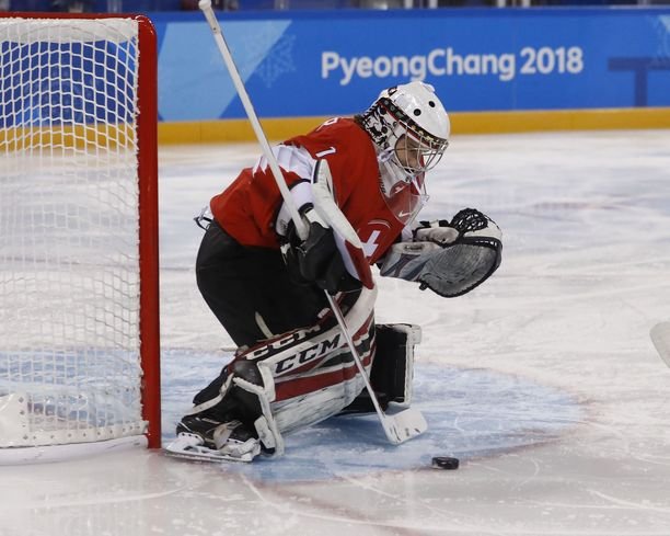 Janine Alderin terveydentilasta ei hiiskuttu MM-kisojen aikana mitään. Kuva Pyeongchangin olympialaisista.