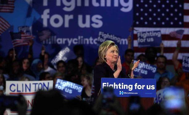 Hillary Clinton tähtää Yhdysvaltojen presidentiksi.