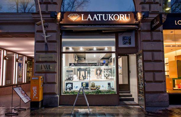 Helsingin keskustassa sijaitseva Laatukoru on ollut aiemminkin ulkomaalaisten ryöstäjien kohteena, viimeksi tammikuussa.