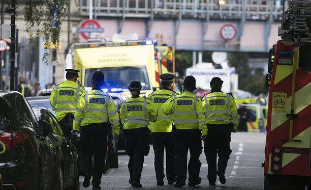Räjähdyksessä loukkaantui noin 20 henkilöä.