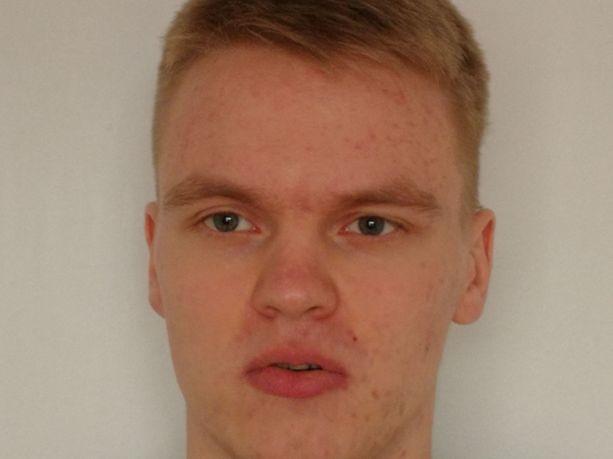 Kadonnut jyväskyläläinen Jani Lehtinen.