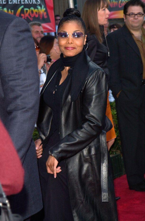 Janet Jackson joulukuussa 2000.
