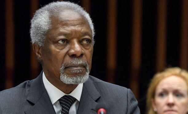 Seminaarissa puhuu muun muassa Kofi Annan.