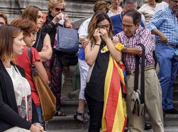 Baskimaassa muistettiin iskun uhreja.