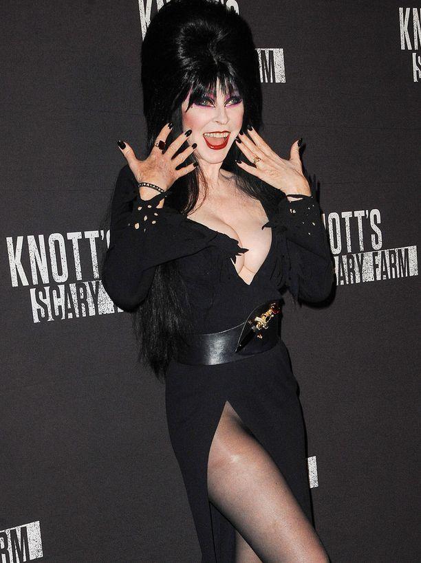 Elvira lokakuussa 2016.