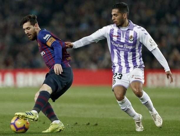 Barcelonan Leo Messi ratkaisi pelin ottelun ainoalla maalilla.