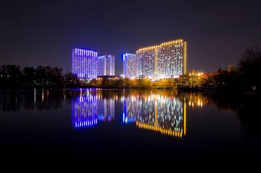 Moskovan Izmailovo Hotel oli pitkään maailman suurin.