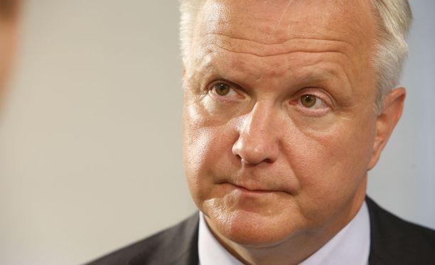TEM:in selvityksen tulos oli Rehnin mukaan selvää pässinlihaa: ei mene läpi.