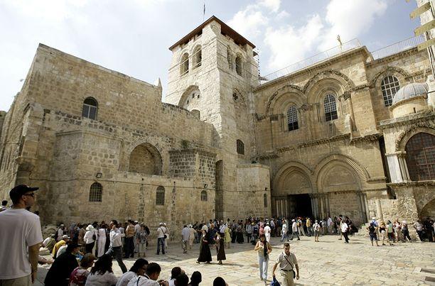 Kirkko sijaitsee Jerusalemin vanhassa osassa.