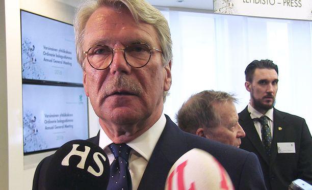 Björn Wahlroos sai osinkoa 26 miljoonaa euroa.