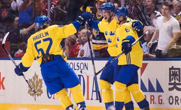 Ruotsi avasi World Cupin voitokkaasti.