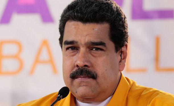 Nicolas Maduro, Venezuelan presidentti.