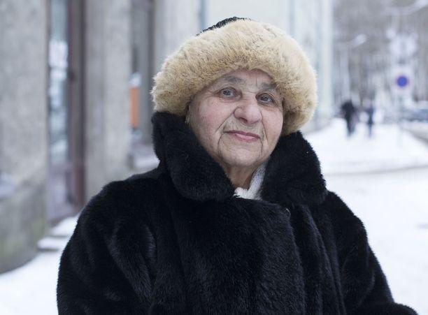 Vaikea löytää Putinista mitään pahaa sanottava, Rozolja Sibalova, 84, toteaa.