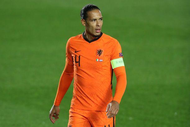 Liverpool-tähti Virgil van Dijk jättää valtavan aukon Hollannille.