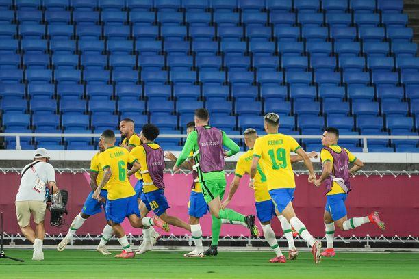 Brasilian riemua.