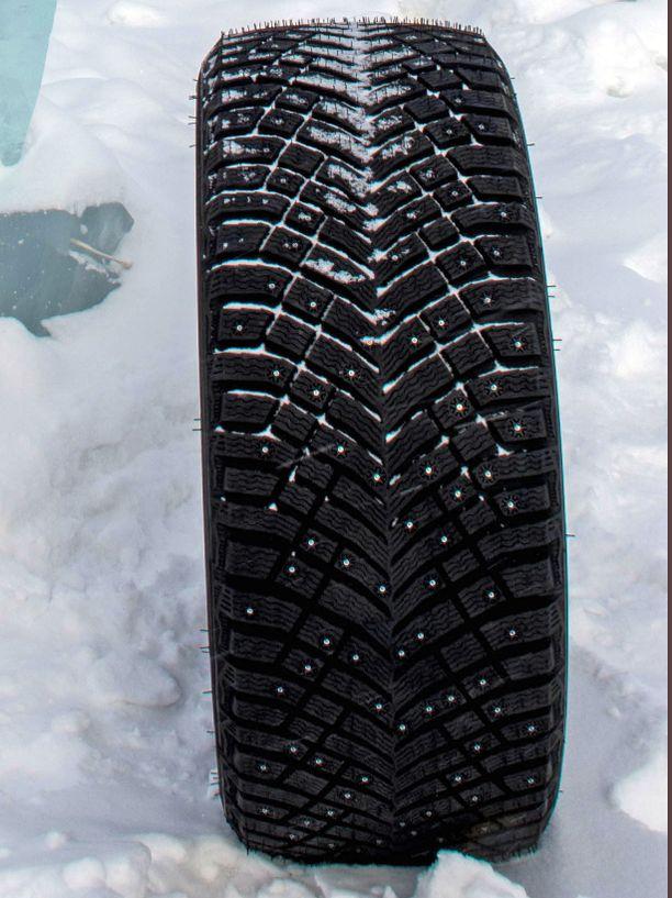 Michelinin renkaassa on peräti 250 nastaa.
