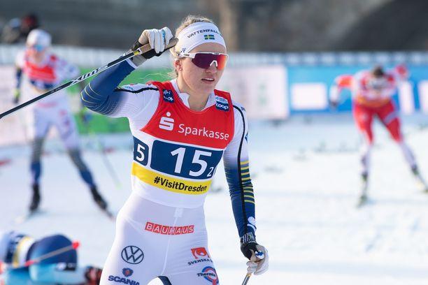 Linn Svahn on Ruotsin hiihdon uusi huippu.