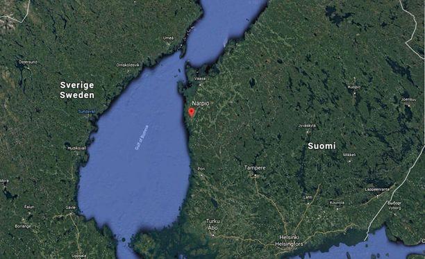 Närpiö sijaitsee Pohjanmaalla Suomen länsirannikolla.
