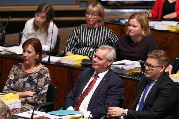 SDP ja Vasemmistoliitto esittävät epäluottamusta hallitukselle.