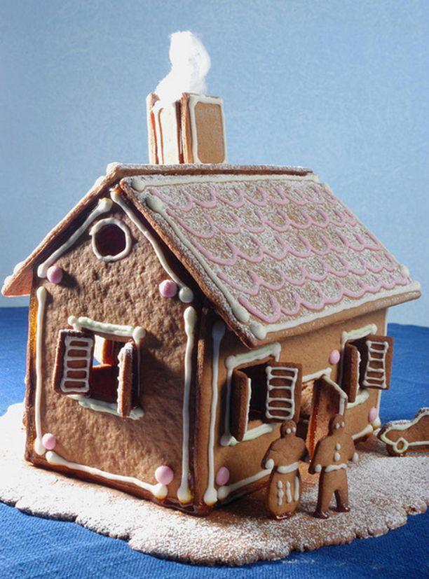 Lasten leipomassa ja koristelemassa kaupungissa oli yhteensä 650 taloa.