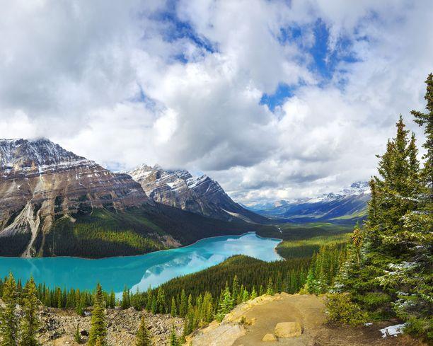 Kanadasta löytyy upeita kansallispuistoja ja muita luontokohteita.