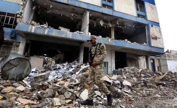 Irakin joukot aloittivat viime kuussa kansainvälisen liittouman tuella operaation Mosulin länsiosan valtaamiseksi äärijärjestö Isisiltä.