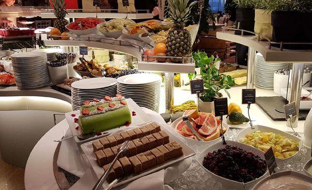 Viking Linelta kerrotaan, että Food Garden -ravintolan aamiaiset ovat kasvattaneet suosiotaan.
