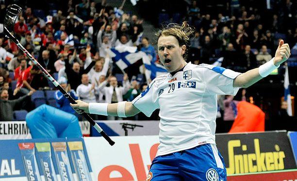 Mika Kohonen on valittu viisi kertaa maailman parhaaksi pelaajaksi.